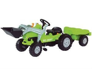 Big Jimmy Loader Plus Trailer Children Pedal Tractor Kids Ride on Toy New