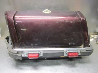 Kawasaki 1980 KZ1300 B Touring Left Side Saddle Bag Hard Case w Lid