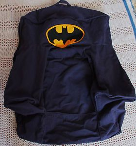 Pottery Barn Kids Anywhere Chair Slipcover Navy Blue Batman Cover Only
