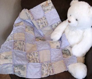Rag Heart Instruction Make Chenille Baby Toddler Quilt