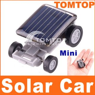 Cool Solar Powered Amazing Toy Mini Car for Kids