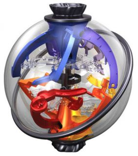 Perplexus Twist 3D Puzzle Maze Ball Game Brain Teaser by Plasmart
