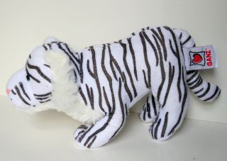 Webkinz White Tiger Stuffed Animal Plush Toy by Ganz