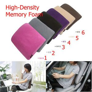 New Memory Foam Lumbar Back Support Cushion Seat Chair Pillow for Car Office