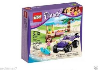 Lego 41010 Friends Olivia's Beach Buggy New in Box Toy for Kids 5702014971691