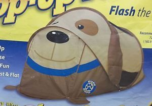 Indoor Play My Pillow Pets Flash The Puppy Kids Bed Tent