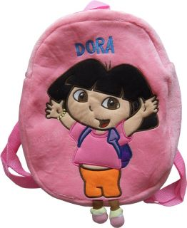 1x New Dora The Explorer Student Kids Children 3D Plush School Bags Backpack US