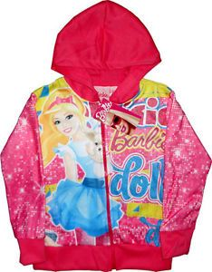 Barbie Doll Girls Jacket Coat Childrens Clothes Kids Clothing Toy Toys Dolls