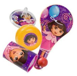What Kids Want Licensed Fun Sets Dora The Explorer Party Favors Toys