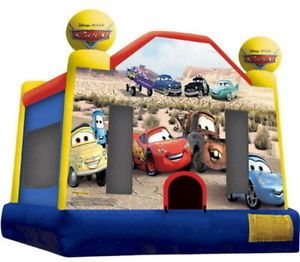 New Disney Cars Inflatable Outdoor Kids Bounce House Blow Up Jumper Bouncing Toy
