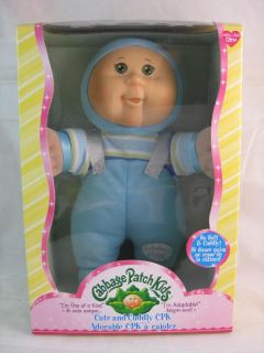 Cabbage Patch Kids Doll Cute and Cuddly CPK in Box