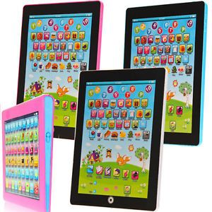My First Tablet Computer iPad Tpad Kids Educational Play Read Game Toy