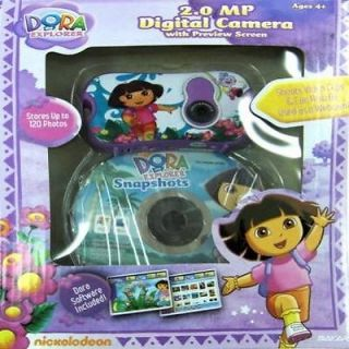 Nickelodeon Dora The Explorer Digital Camera Toy Kids Play Fun Game Children New