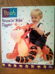Winnie Pooh Play Indoor Inflatable Bouncing Baby Kids Bouncer Toy Ride Tigger 2