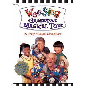 Wee Sing Grandpa's Magical Toys New DVD Kids 1 8