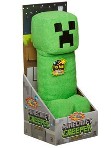 Minecraft Creeper Plush Toy with Sound New Toys Kids Video Game Jinx Great Gift