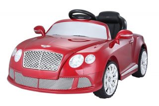 Bentley GT Ride on Toy Car Licensed Kids Power Wheel Battery Car Remote C 2014