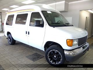 2007 Ford E150 Conversion Van Rear Entertainment 7 Passengers Captains Chairs