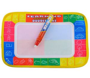 Water Drawing Painting Writing Board Play Mat 29x19cm Baby Magic Pen Kids Toys