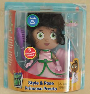 Super Why Princess Presto Doll Action Figure Character PBS Kids Learning Toy