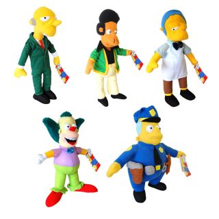 Simpsons Large Soft Toys Cartoon Character Cool Kids Plush Cuddly Collectable