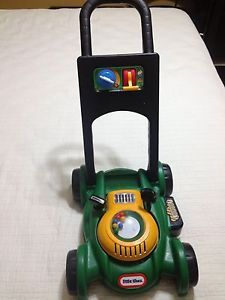 Little Tikes Gas Go Toy Push Lawn Mower Cut Grass Kids Boys Girls Engine Sounds