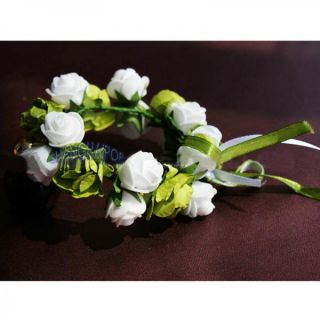Festival Floral Headband Garland Women Girl Kids Flower Wedding Bridal Hairband