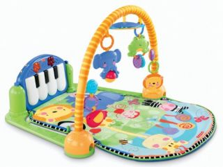 Fisher Price Musical Infant Discover 'N Grow Kick and Play Piano Gym for Kids