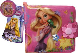 Disney Princess Rapunzel Tangled Girls Purse Wallet Kids Wallets Coin Purses Toy