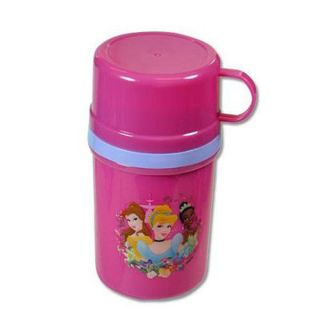 Disney Princess School Kids Thermal Drinkware Tumbler Cup Thermo Container New