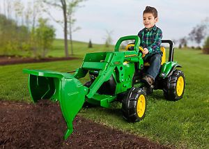 Peg Perego John Deere Front Loader Pedal Tractor Kids Pedal Toy Ships Free