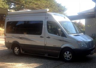 2007 Road Trek Sprinter Mercedes Benz Class B Grey Two Tone Vin Wdype 74575200