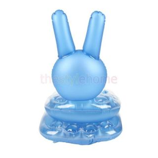 40cm Inflatable Blow Up Rabbit Sofa Chair Seat Kid Party Favor Pool Beach Toy