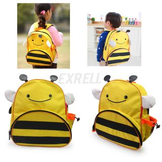 Bee Cute Kids Boy Girl's Animal Colorful School Backpack Shoulder Lunch Book Bag