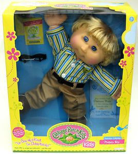 New Cabbage Patch Kids Doll DeShawn Mike Sept 25 Premiere Collection Preppy Boy
