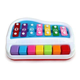 Xylophone Piano Percussion Instrument Baby Kids Child Educational Musical Toy