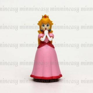 Nintendo Furuta Super Mario Bros Ver U Anime Figure Figurine Toy No 5 Peach