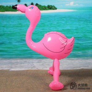 New Inflatable Flamingo Beach Pool Swimming Party Decor Kid Gift Animal Toy 55cm