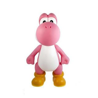 "Super Mario Bro Brother Yoshi Pink PVC 5"" Action Figure Toy Loose Kids Gift"