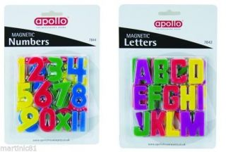 Childrens Kids Learning Letter Number Magnets Fridge Magnet Magnetic ABC123