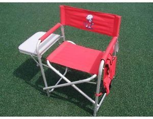 Ole Miss Rebels Folding Directors Chair with Table
