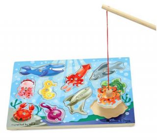 Magnetic Fishing Game Melissa and Doug Ages 3