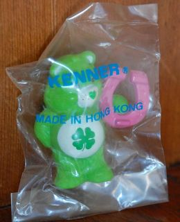 Mint in Kenner Factory Bag Care Bear PVC Toy Mini Figure Miniature Good Luck