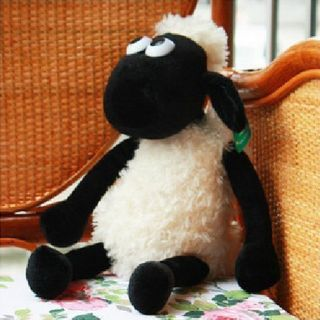 45cm Shaun The Sheep Soft Plush Toy Cute Stuffed Animal Doll Gift for Kids