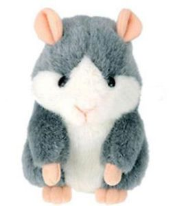 Funny Mimicry Pet Plush Talking Animal Swing Hamster Kids Child Play Plush Toy G