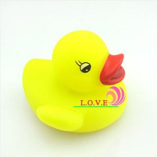 Baby Bath Toy Yellow Duck Multi Color LED Lamp Light