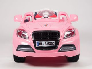 Kids Ride on Car 12V Powered Wheels w RC  Remote Control Pink