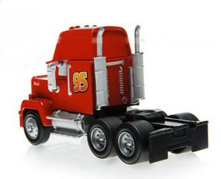 Mattel Disney Cars Movie Lightning McQueen Mack Truck Diecast Car Toy Loose Hot