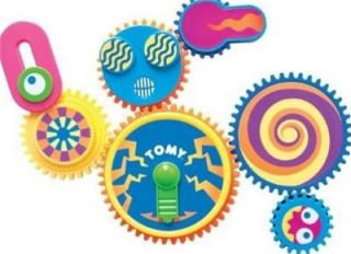 Tomy Gearation Magnetic Gear Building Toy Time to Imagine Board Magnetic Autism