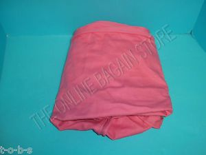 Pottery Barn Kids Beanbag Chair Bench Cube Replacement Cover Pink Zip on Off